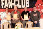 Die neue Vorstandschaft v.l.n.r.: Hans Schmauser, Reiner Fritzke, Marius Kauderer, Rico Barotti, Dietmar Graf, Florian Cartsburg, Martin Steib