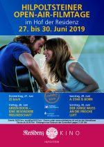 Plakat Hilpoltsteiner Open-Air-Filmtage 2019