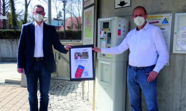 Handyparken in den stadtwerkeeigenen Tiefgaragen  startet am 1. April