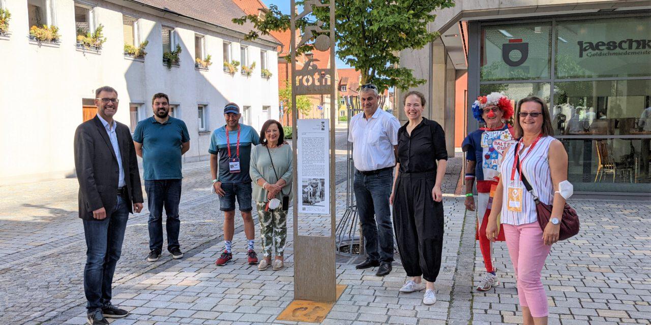 """Zweite Stele des """"Walk of Triathlon"""" eingeweiht"""